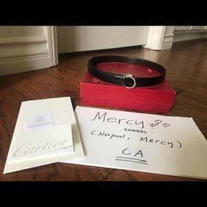 SOLD!!! Authentic Cartier belt